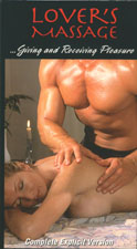 Lover's Massage DVD for couples and singles